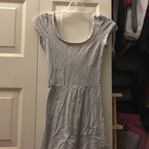 American eagle white/ striped dress